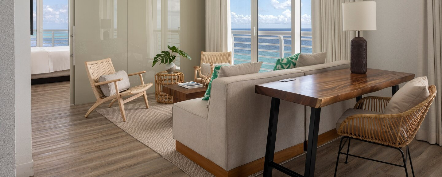 Ocean Front Hospitality Suite