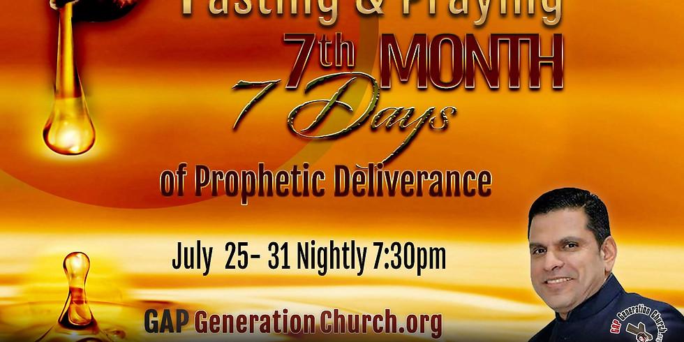 Fasting And Praying July 2021