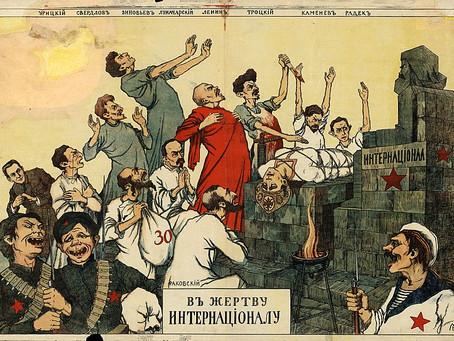 Naquela época, a URSS (a contragosto) se voltou para o livre mercado para se salvar do colapso