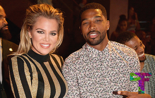 Khloe Kardashian Gives Tristan Thompson's Gold Treatment for 26th Birthday