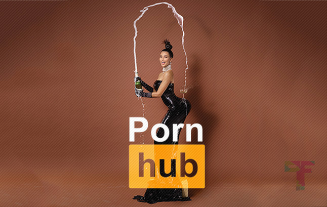 PornHub Reminds Kim Kardashian Why she is Famous