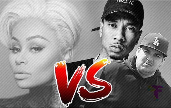 Tyga Teams up With Rob Kardashian in Epic Showdown Vs. Blac Chyna