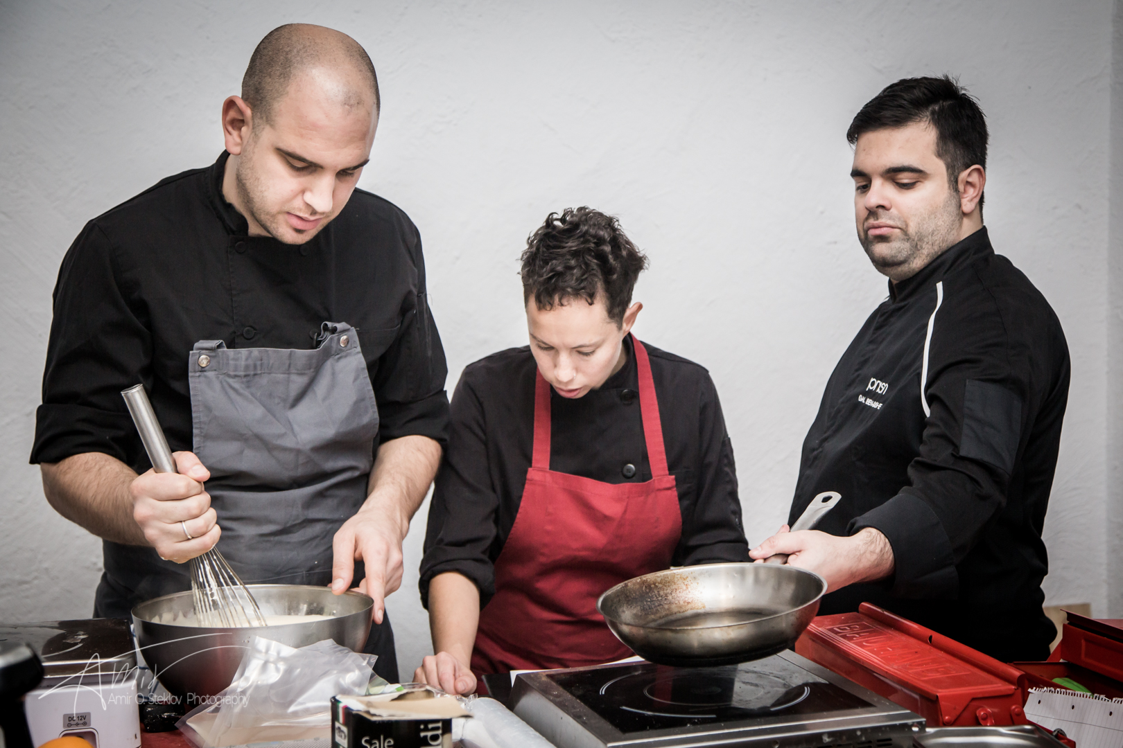 Chef Gal Ben Moshe And The Team