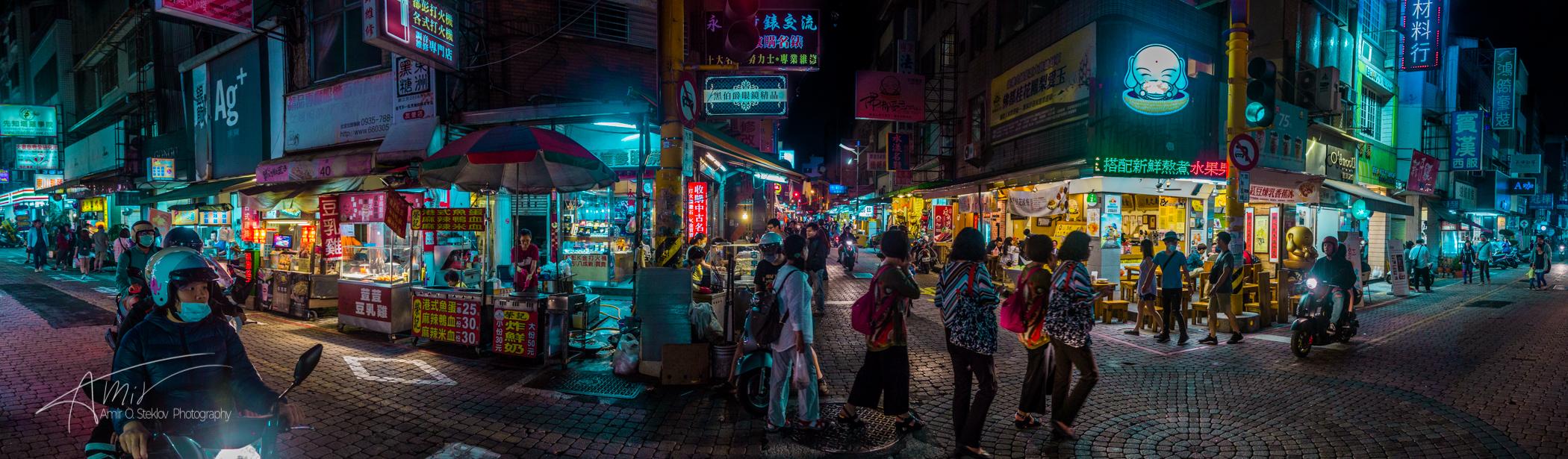 Tainan at Night