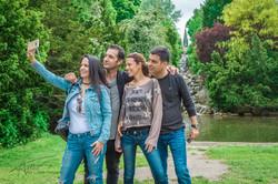 Friends at Viktoriapark