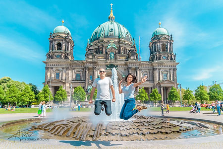 Berliner Dom with Jumping Birds.jpg