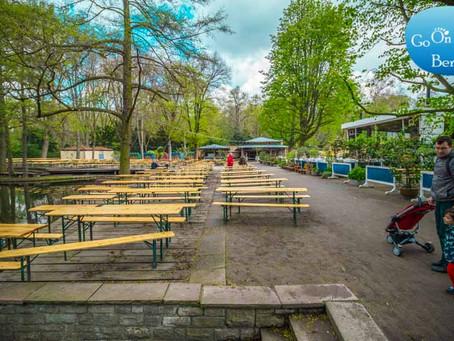 בית קפה ביער בלב ברלין