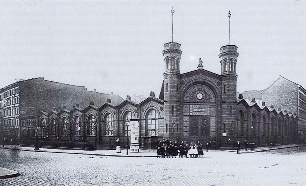 שוק מקורה מספר 7 של ברלין לפני מלחמת העולם השניה