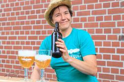 Ulrike Genz proud of her beer