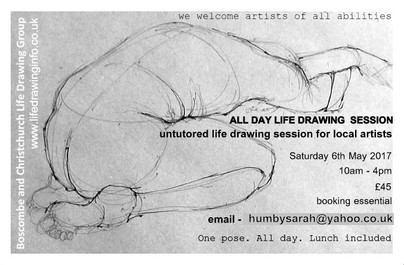 ALL DAY LIFE DRAWING SESSION
