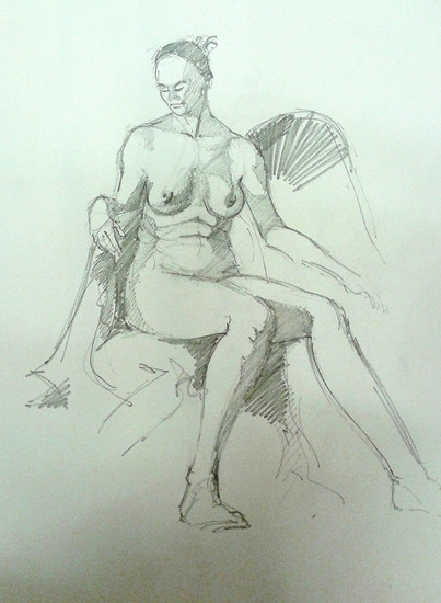 BOSCOMBE LIFE DRAWING  GROUP MOVES TO THE BY-THE-SEA OLD SCHOOL HOUSE