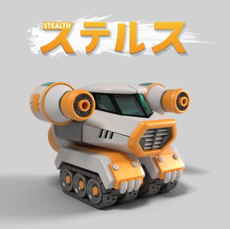 T.Tanks 3D concept Stealth