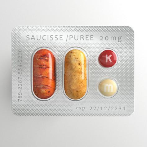 Future Foods saucisse puree