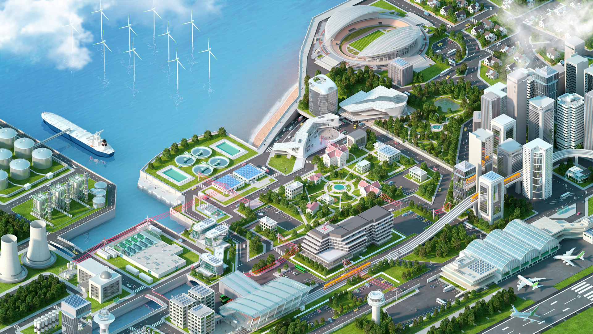 Schneider Electric Smart City