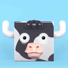 Zoocubes Cow