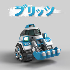 T.Tanks 3D คอนเซปต์ Blitz