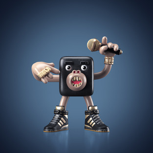 Hands!Up! #04 MC monkey