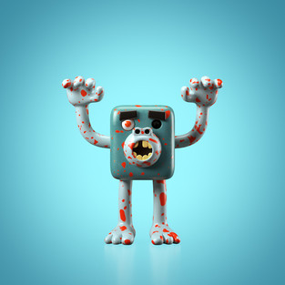 Hands!Up! #09 zombie monkey