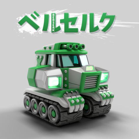 T.Tanks 3D concept Berserk