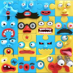Puzzled full frame