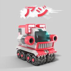 T.Tanks 3D concept อาจิ