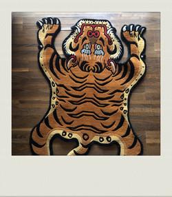 Tigerteppich