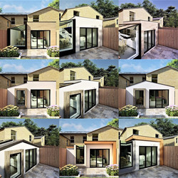 Design Options for Wraparound Terraced Extension