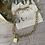 Collier cadenas , chaîne épaisse en acier inoxydable.
