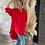 Thumbnail: Chemise longue rouge