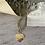 Collier en forme de coeur en acier inoxydable. Il pèse 56 grammes .