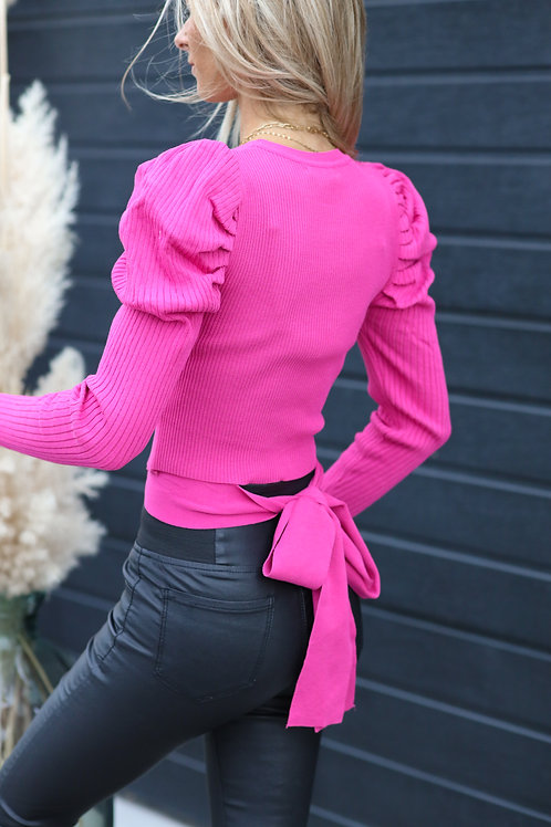 pull manches bouffantes. tendance Grecy automne 2021