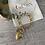 Bracelet pendentif coeur. En acier inoxydable