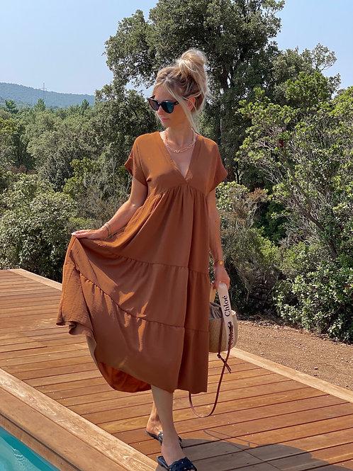 Robe Alexandrine Camel
