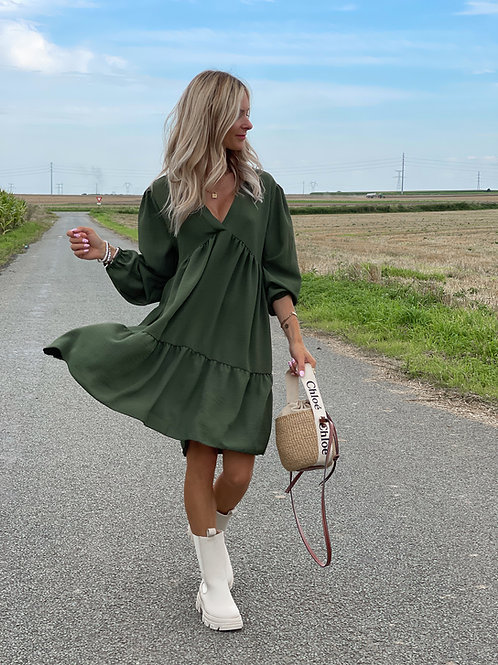 Robe Fanny Manches Longues