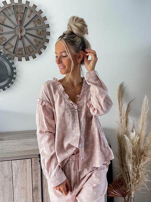 Pyjama Cocooning Rose