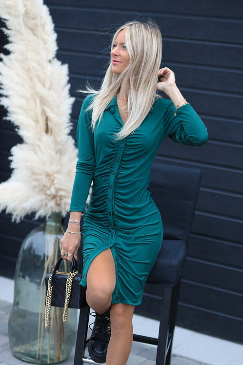 Robe chemise Vert Sapin
