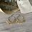 Boucles d'oreilles créoles avec pampilles, elles sont en acier inoxydables et légères ( 7g chacune )