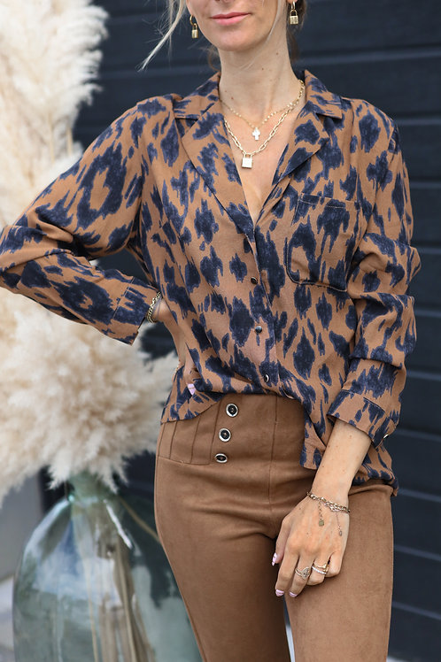 chemise leopard automne 2021 grecy tendance moderne