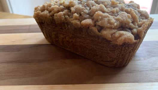 Pumpkin Maple Crumble Bread