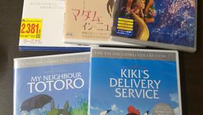 自宅で英語勉強用の映画入荷