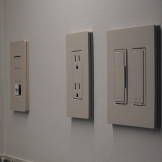 Phone/Data, Outlet, Dimmer, Switch