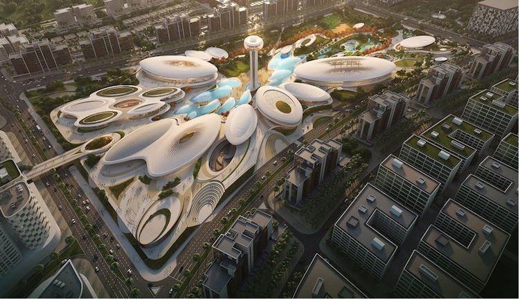 ZAHA HADID-Central Hub en Sharjah