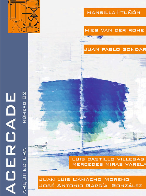 Revista ACERCADE Arquitectura. número 2. PDF
