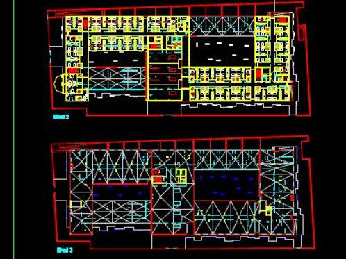 RESIDENCIA DE MAYORES. 139 plazas. Archivos Editables