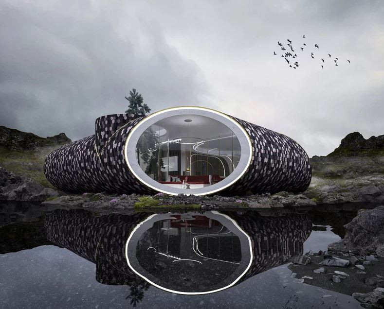 Casa de Concha Escandinava. Wafai