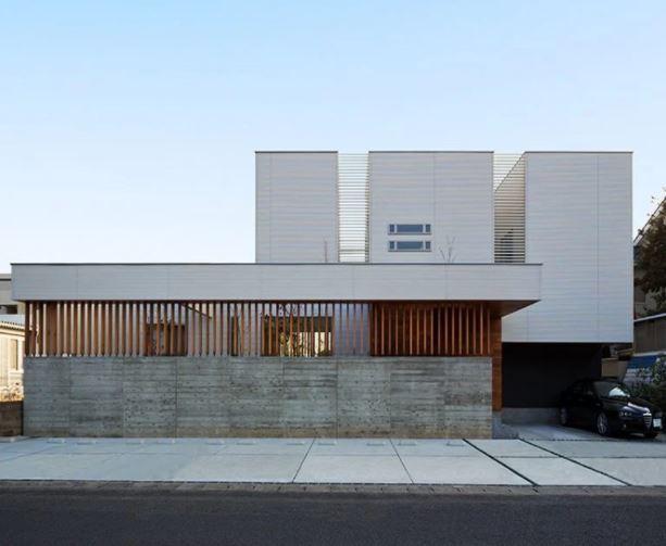 N8-house por masahiko sato A 'ganador del premio de diseño en la categoría de arquitectura, construcción y diseño de estructuras, 2016 imagen © toshihisa ishii