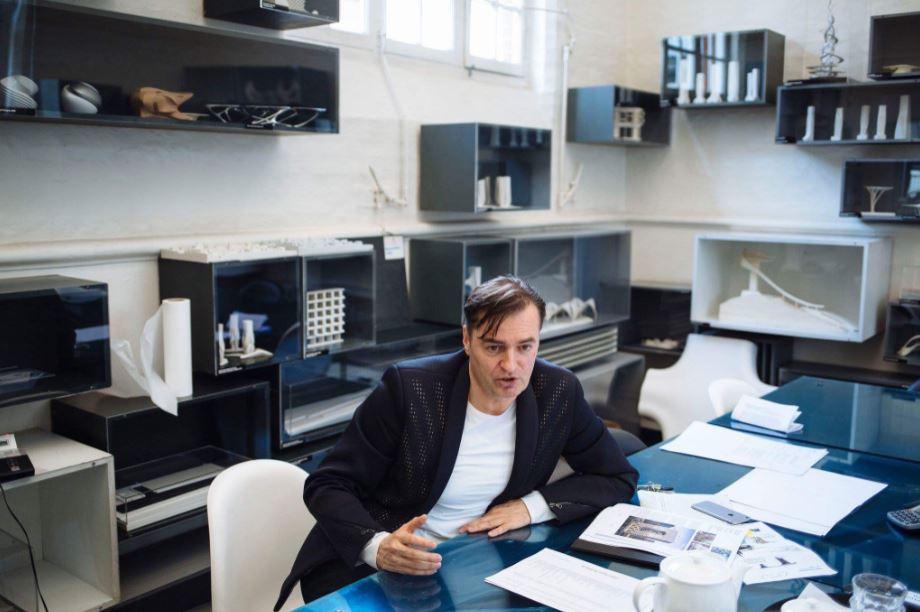 Patrik Schumacher. Arquitecto. ZHA