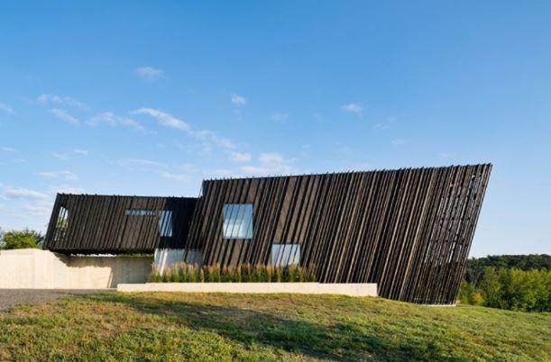 Sleeve house por Adam Dayem Ganador del premio de diseño A 'en la categoría de arquitectura, construcción y diseño de estructuras, 2018 imagen © michael moran / OTTO archive