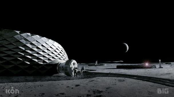 Arquitectura en la Luna
