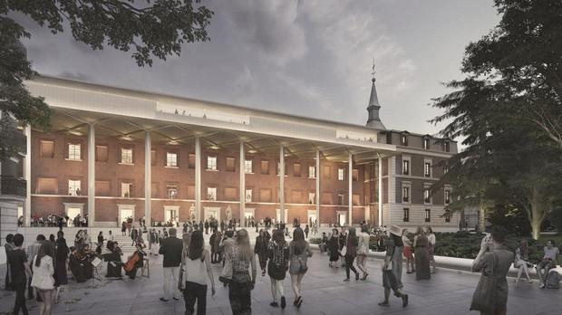 Ampliación del Museo del Prado de Foster